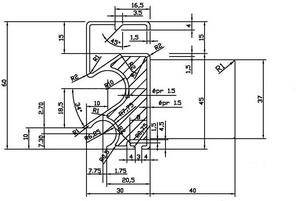 We use your 2D parts drawing to create 3D plans