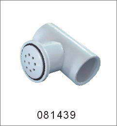 Jacuzzi and spa T shaped nozzle white H-S-1439