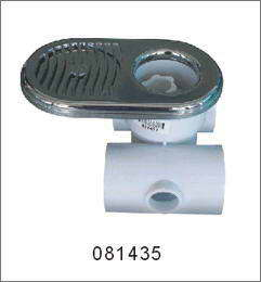 Jacuzzi and spa Ultrasonic massage nozzle chrome H-S-1435