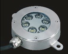 single color recessed underwater light 6X3W