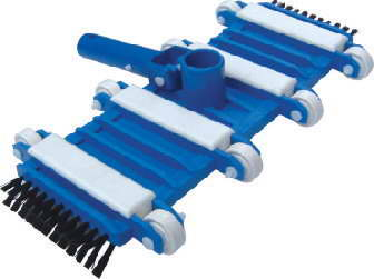 Pool Vacuum Head with side brush