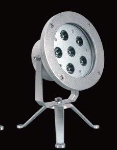 LED 5mm x 52 single color with tripod underwater spot light