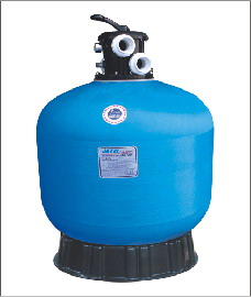Top-mount valve sand filters T400-16""