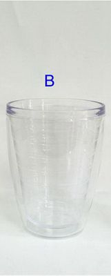 467ml - 15.85 oz polycarbonate double wall tumblers