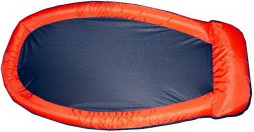 Mesh Lounge Swimming Pool Floating Inflatable Float Chairs Red